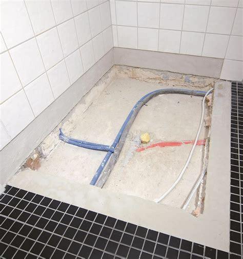 installazione piatto doccia filo pavimento piatti doccia kaldewei come installare un piatto doccia