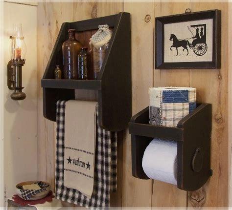 primitive inspired bathroom bath ideas juxtapost primitive towel shelf bathroom storage by sawdusty