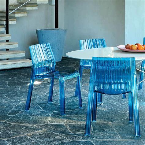 sedie cartell frilly sedia kartell di design in policarbonato