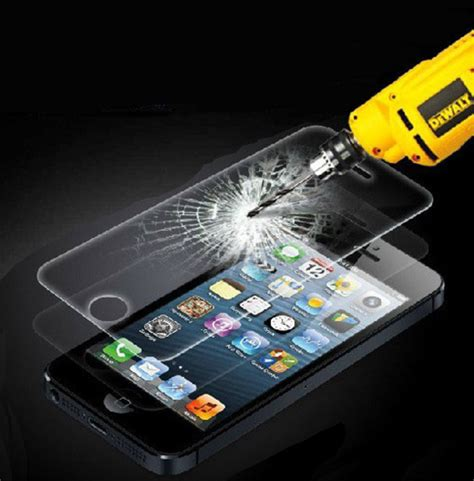 Tempered Glass Ip 5 ultra tyndt tempered h 230 rdet glas p 229 kun 0 26mm til iphone