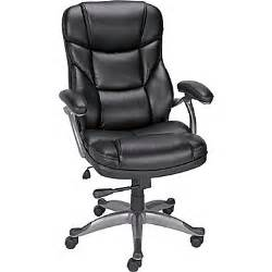 staples desk chairs staples osgood bonded leather high back manager s chair