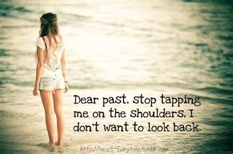Tumblrtee Never Look Back poem of dear past