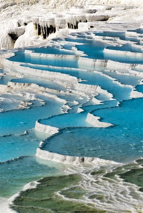 pamukkale thermal pools pamukkale turkey pamukkale meaning quot cotton castle quot in
