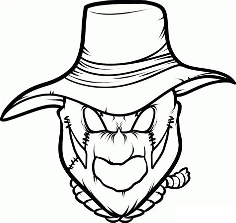 batman head coloring page scarecrow head coloring page sketch coloring page