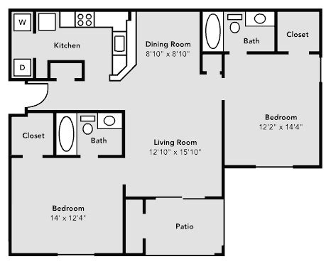 image of floor plan pricing and floor plans university village university