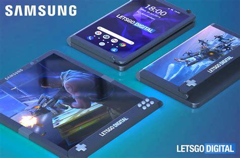 samsung gaming smartphone  foldable display