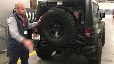 aev jeep rear bumper aev rear bumper and tire carrier overview