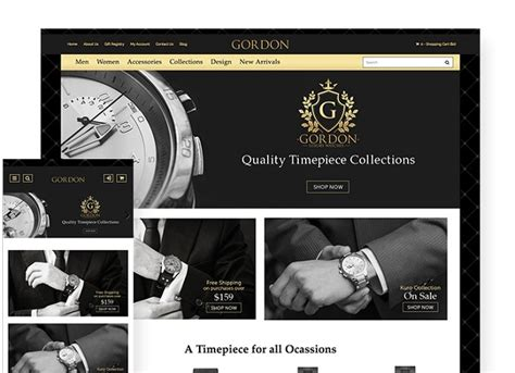 luxury   website template  ecommerce dcart