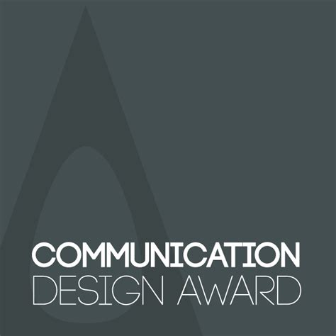 design is communication a design award and competition good communication design