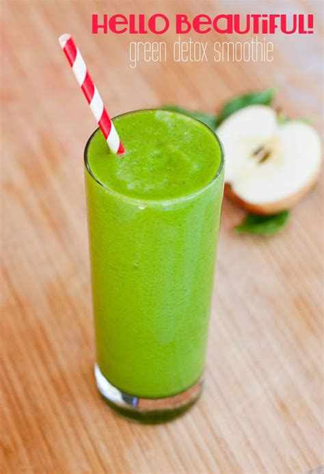 Detox Smoothie Recipes Easy by Check Out Hello Beautiful Green Detox Smoothie It S So