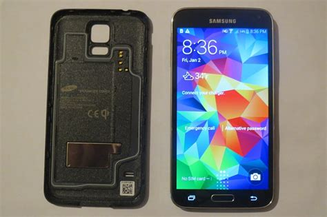 Never Received Verizon Gift Card - verizon samsung galaxy s5 black sm g900v wireless charging cover perfect condition