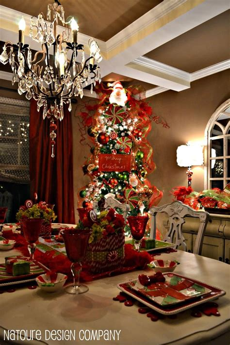 17 best ideas about christmas dining rooms on pinterest 17 best images about christmas chandelier on pinterest