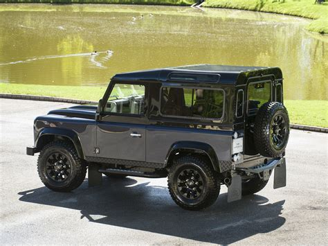 land rover defender 2015 black stock tom hartley jnr