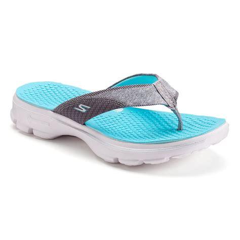 Skechers Flip skechers gowalk pizazz s flip flops fashion