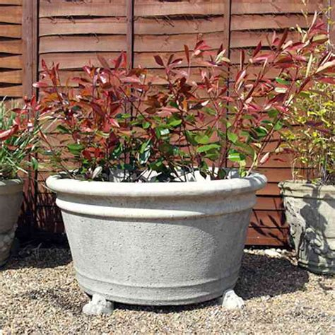 Large Plant Tubs Large Garden Tub Large Pots