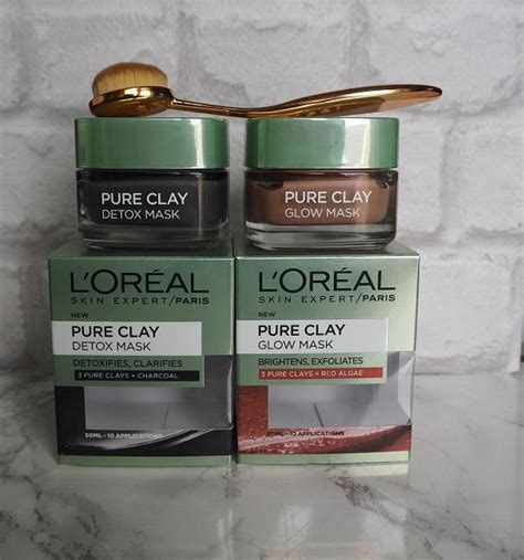 L Oreal Detox Clay Mask Review by L Oreal Clay Mask Review Detox Glow From A