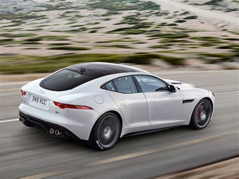 jaguar f type four door coupe rendered autoevolution