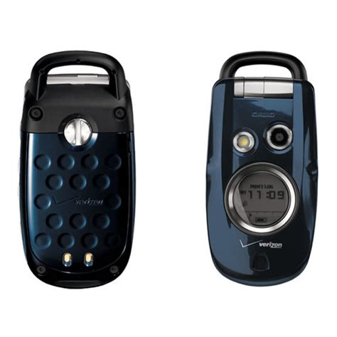 verizon wireless rugged phones casio gzone blue type s for verizon waterproof like new cell phones mobilecellmart