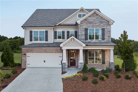 ryland homes atlanta opens new decorated model at