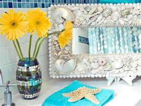 Seashell Bathroom Ideas seashell bathroom decor ideas pictures amp tips from hgtv