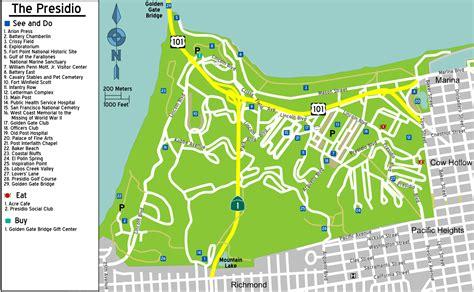 san francisco map presidio file sanfrancisco presidio map png