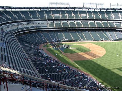 tex section globe life park section 342 rateyourseats com