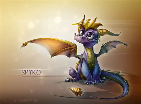 spyro the dragon by dragibuz on deviantart