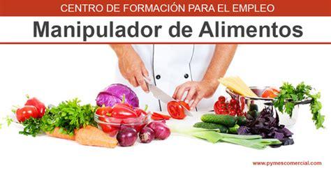 carnet de manipulador de alimentos curso  gratis
