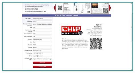 Visitenkarten Mit Qr Code Drucken by Qr Code F 252 R Visitenkarten