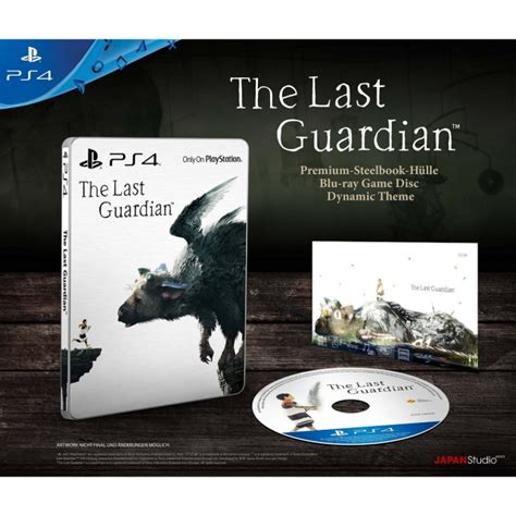 Kaset Playstation Ps4 The Last Guardian the last guardian steelbook edition ps4 playstation 4