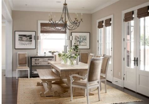 valspar homestead resort taupe wall color collection table and chairs