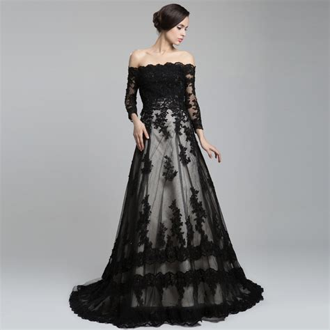 Wedding Dress Back by The Shoulder Sleeve Lace A Line