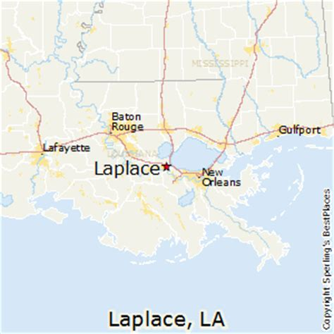 la live map best places to live in laplace louisiana