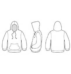 hooded sweater template vector by bytedust image 573458
