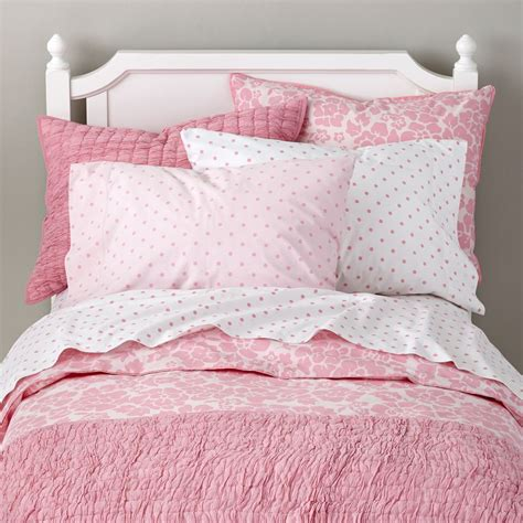 pink comforters for girls girls bedding sheets duvets pillows the land of nod