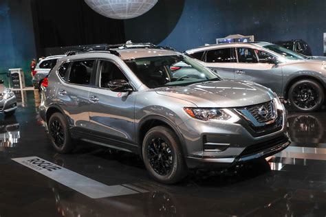 nissan rogue 2017 black nissan brings special midnight edition package to six