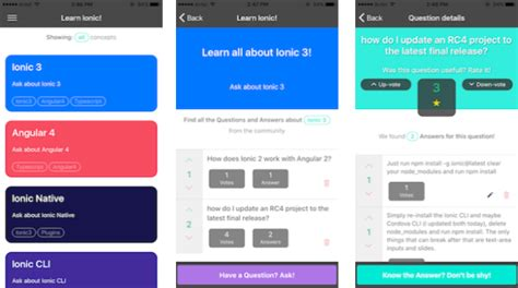 ionic web app tutorial build a complete mobile app with ionic 3 learn ionic