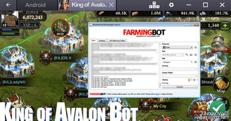 hacked apks king of avalon warfare cheats bots and other apps
