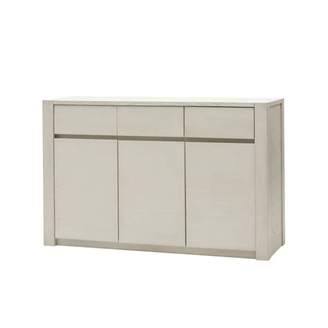 credenza moderna credenza moderna in legno bianco a tre ante e due cassetti