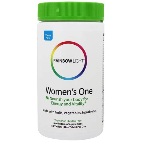 rainbow light s one multivitamin 150 tablets rainbow light at luckyvitamin com