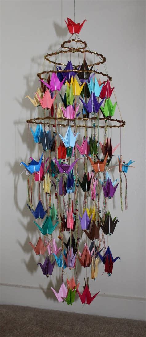 Origami Crane Mobile For Sale - 17 best ideas about origami cranes on paper