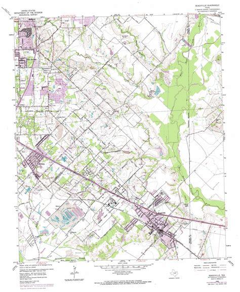 usgs topo maps texas seagoville topographic map tx usgs topo 32096f5