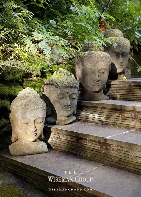 stone buddha heads   stepwhat  interesting