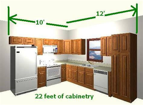 how to calculate linear for kitchen cabinets how to