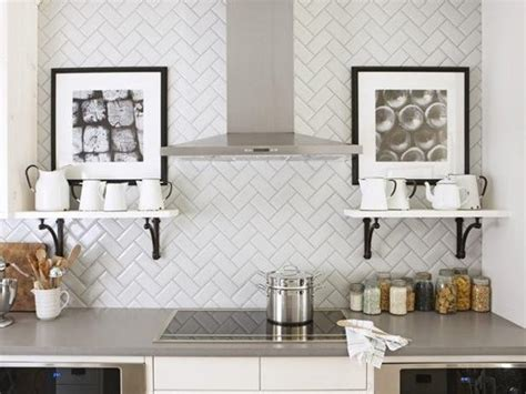herringbone pattern backsplash tile pattern potential subway backsplash tile centsational