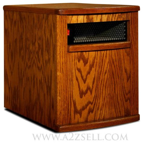 indoor heater handcrafted cabinet style indoor infrared