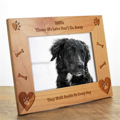 home design story dog bone dog bone personalised photo frame