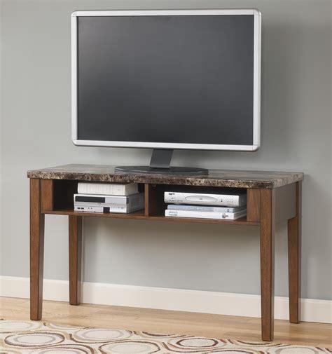 ashley marble sofa table signature design by ashley theo t158 4 sofa table tv