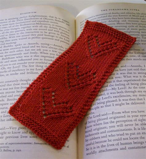 knitted bookmarks bookmark knitting patterns in the loop knitting