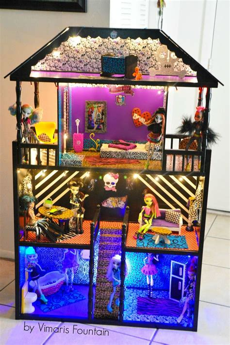 Picture Of Monster High Doll House House Pictures